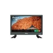 TV LED 16 Philco HD PTV16S86D com Conversor Digital 2 HDMI 1 USB 60Hz