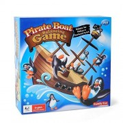 EITC Creative Pirate Boat Balancing Game Penguins Balance Interactive Table Game Children Learning Educational Toys Kids Desk Toys