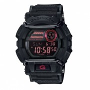 Casio G-Shock estandar digital GD-400-1DR-Negro + Rojo