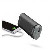 Външна батерия Cellularline 5200 mAh (черна)
