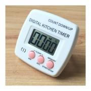 Cocina Temporizador Electrónico Digital Alarma Fuerte Respaldo Magnético Con El Titular Para Cocinar, Hornear Juegos Deportivos Office (rosa)