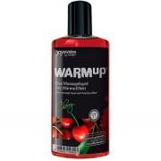 Joydivision WARMup Värmande Massageolja Cherry - 150 ml