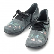 ミスキョウコ 4E花柄刺繍スニーカー【QVC】40代・50代レディースファッション