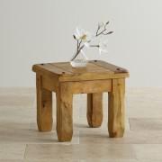 indickynabytek.cz - Odkládací stolek Devi 45x40x45 z mangového dřeva, Mango natural