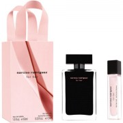 Narciso Rodriguez for her CONFEZIONE REGALO profumo 50 ML EDT SPRAY + hair mist 10 ml + shopping bag