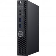 PC Dell OptiPlex 3060, VW9T1, crna, Intel Core i5 8500T 2.1GHz, 256GB SSD, 8GB, Intel UHD 630, Windows 10 Professional, Micro, 12mj, Tipk., Miš