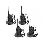 Set 4 buc Statii Radio Walkie Talkie Baofeng BF-888S UHF 400-470MHz 16CH PROGRAMABILE