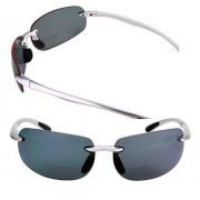 Mass Vision Lovin Maui anteojos de sol polarizadas para hombre y mujer, 2 pares de anteojos de sol polarizadas, Polarizadas: plata/plata., M