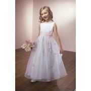 Svecana haljina za devojcice od ruza, tila i satena