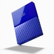 "1TB Western Digital MyPassport, външен, 2.5""(6.35cm), USB 3.0, син"