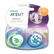 Avent Philips® Avent Beruhigungssauger 6-18 Monate (Motiv nicht wählbar)