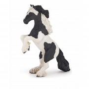 Geen Decoratie steigerend paard plastic 16 cm