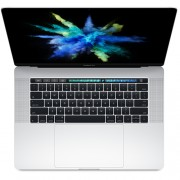 Apple MacBook Pro 15 Touch Bar, Touch ID, Quad-Core i7 2.8GHz, 16GB, 256GB SSD, Radeon Pro 555 w 2GB (сребрист) (модел 2017)