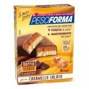Nutrition & Sante' Italia Spa Pesoforma Barrette Caramello Salato