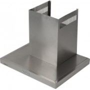 Brightflame Lily Single Bidding Stainless Steel 60 CM Wall Mounted Chimney(Grey 1100 m3/HR)