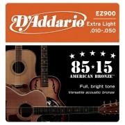 Corzi chitara acustica D'Addario EZ900