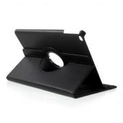 Zwarte iPad 2017 case draaibaar cover standaard leder