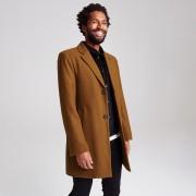 Brice Manteau long col tailleur Camel taille: L