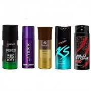 Any 3 Assorted Deos Out Of 5 deos Deodorants Body Spray For Men pack of 3 pcs