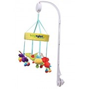 LLZJ Crib Musical Mobile Cot Toy Baby Activity Crib Hanging Campanula Pendant Stroller Soft Colorful Plush Doll Toys Newborn Crib Bed Birthday Present Multifunction Suspension Music Rotation Wisdom