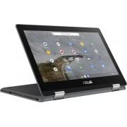 ASUS Chromebook Flip C214MA Grijs 29,5 cm (11.6'') 1366 x 768 Pixels Touchscreen Intel® Celeron® N 4 GB 64 GB eMMC Wi-Fi 5 (802.11ac) Chrome OS