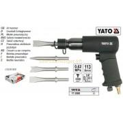 Yato Pneumatikus vésőkészlet pisztollyal (YT-0990)