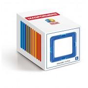 MAGFORMERS Square (12 Piece) Building Set, Rainbow