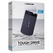 Freecom 2,5\-os HDD 500GB Ütésálló USB 3.0 csatlakozás