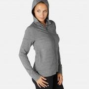 Nyamba Veste à capuche zippée femme 100 gris - Nyamba