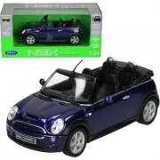 WELLY Mini Cooper S Cabr io, niebieskiMINI COOPER + EKSPRESOWA DOSTAWA W 24H
