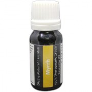 Divine Natural Essentials Myrrh Essential Oil 100% Pure Undiluted Aromatherapy Skincare Therapeutic Grade. 10 ml