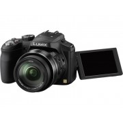 Panasonic Lumix DMC-FZ200 Digitale camera 12.1 Mpix Zwart Full-HD video-opname, Draai- en zwenkbare display, Flitsschoen, Elektronische zoeker