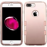 Funda Case Para IPhone 7 Plus / IPhone 8 Plus Protector Dobre De Uso Rudo-Rose Gold