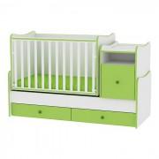 Lorelli Bertoni Drveni krevetac Trend Plus White Green (10150400023)
