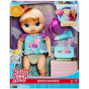 Papusa fetita bebe cu accesorii ingrijire Baby Alive Hasbro