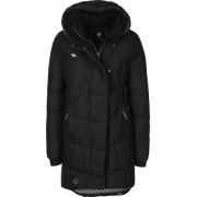 Ragwear PAVLA Damen Winterjacke schwarz