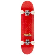 Voltage Mini Skateboard Kind Voltage Graffiti (Rood)