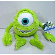 Pi² Monsters University Monster Inc Mike Wazowski Plush Toy Stuffed Soft Toy 25cm