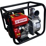Pompa de apa ROTAKT ROMP3248, capacitate combustibil: 3.6 L, capacitate cilindrica: 196 cmc, putere maxima motor: 6.5 CP