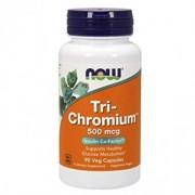 Now Tri-Chromium 500 mcg 90 Cápsulas