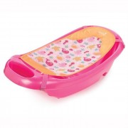 Set cadita si suport de baita Splish n Splash Pink Summer Infant