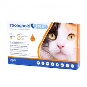 Stronghold Plus 30mg/5 mg (pisici 2.5-5 kg) - cutie cu 3 pipete