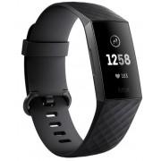 Bratara Fitness Fitbit Charge 3 (Negru)