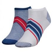 Tommy Hilfiger Women Diagonal Sneaker 2-pack Blue Combo