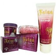 Faiza Beauty Whitening Cream Soap And Face wash (Set of 3)