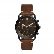 Часовник FOSSIL - The Commuter Chrono FS5403 Brown/Black