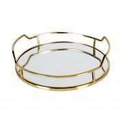 BePureHome Luxurious dienblad goud metaal