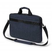 Dicota Slim Case Plus Edge 14 - 15.6 blue denim notebook case