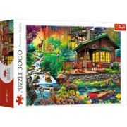 Trefl Puzzle Slagalica Cabin in the woods 3000 kom (33074)