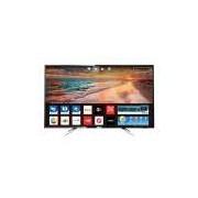 Smart TV LED 50 Philips 50PUG6102/78 Ultra HD 4K 4 HDMI 2 USB Preta com Conversor Digital Integrado
